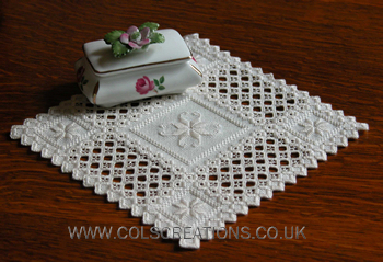 Col S Creations Traditional Hardanger Designs Stocking